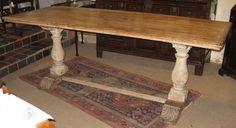 Image detail for -Antique Trestle Table - Tim Wharton Antiques
