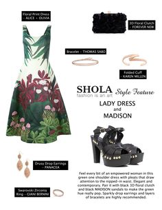 Floral dresses are easy to style and come in either soft watercolor or bold pops of bouquet colors. This charming and very lady like piece is a favorite when it comes to garden weddings and family gatherings.  Just because it's the holiday season doesn't mean you can't wear florals. Add sparkles and gold toned accessories to elevate your look.