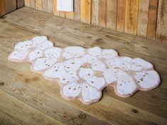 """Badeteppich aus Giza Baumwolle """"Kirschblüte"""", 2000 g/m² ca. 80 x 150 cm von Abyss & Habidecor Giza, Kids Rugs, Interior, Inspiration, Home Decor, Japanese Cherry Blossoms, Dyeing Yarn, Laundry Detergent, Cherries"""