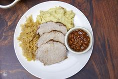 Ring in the New Year with THE BEST Pork and Sauerkraut recipe! Juicy and packed with so much flavor! Mom's recipe perfected! | the best pork roast, new year's pork and sauerkraut, oven roast pork, new year food, the best pork roast, roasted pork loin and sauerkraut #porkroast #porkandsauerkraut #newyearseve #comfortfood #pork #sauerkraut New Years Pork And Sauerkraut, Pork And Sauerkraut Recipe, Pork Roast In Oven, Pork Loin, Mom's Recipe, Recipe For Mom, New Year's Food, Non Stick Pan, Comfortfood