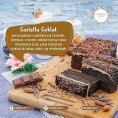 "Varian rasa dari Makobu Cake yang paling populer nih "" Castella Chocolate"" dengan perpaduan renyah plus lembut bikin semua yang makan ga mau berenti deh pokonya. . @makobucake @makobucake . Makobu Cake Store di Jalan Besar Ijen No.82 Kota Malang. . Open Hours : 07.00 - 22.00 . @krisdayantilemos @raullemos06 . #makobucake #wuenakepoll #malang #oleholehkekinian #krisdayanti #krisdayantilemos #oleholehmalang #malanghits #malangkuliner #malangfoodies #malangfood #malangcake #malangpunya…"