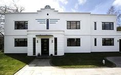 Grey Lea's, an Eco home in the style of Art Deco! Wow wow wow. My two loves combined!