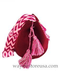 Authentic Wayuu Mochila ~ Crossbody 11 in.H x 9 in.W -