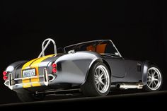 SEMA 2013 Mk4 Roadster - Black Background - Factory Five Racing