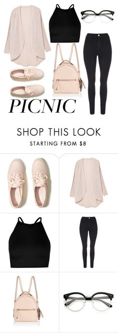 """""""Picnic"""" by annabecanova on Polyvore featuring Hollister Co., MANGO, Boohoo and Fendi"""