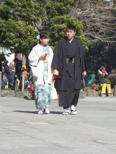 Traditionally dressed couple