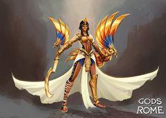ArtStation - Gods of Rome - Wrath of Egypt and Vikings (canceled) - Gameloft, Alexandre Chaudret