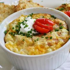 """Baked Omelet I """"I made this for friends and received rave reviews. I served large portions and everyone cleaned their plate. It turns out light like a soufflé."""""""