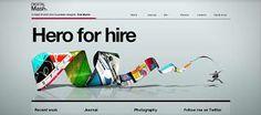 Web Design Trends for 2010 - DJ Designer Lab Portfolio Design, Web Portfolio, Creative Portfolio, Online Portfolio, Portfolio Ideas, Design Web, Graphic Design Blog, Web Design Trends, Design Layouts