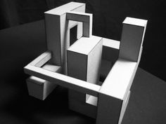 Architecture - Sara Wing Cubic Architecture, Concept Models Architecture, Concept Architecture, Architecture Design, Plaza Design, Drawing Furniture, Instalation Art, Public Space Design, Architectural Sculpture