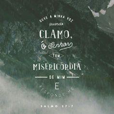 Salmos 27.7 ❣