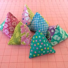 Set of 6 pattern weights