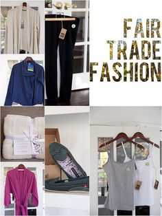 a few new sources for fair trade clothing.  not that i can afford any of it, but it's nice to dream!  i want those leggings!