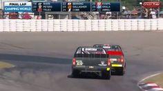 Crazy Finish by NASCAR Trucks in Canadian Motorsport Park-2016
