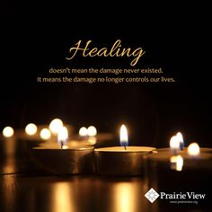 """""""...the damage no longer controls our lives."""" #recovery"""