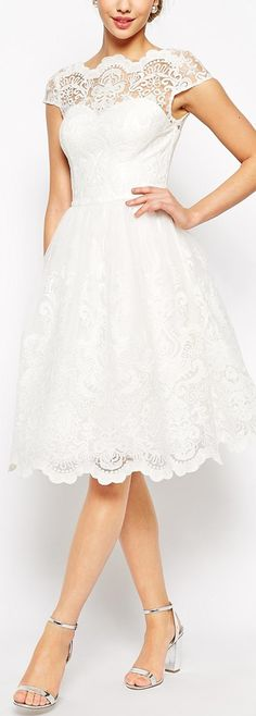 retro lace dress