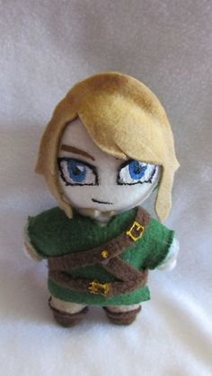 The Legend of Zelda Twilight Princess Link Handmade Plush Doll