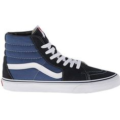 Vans Sk8 Hi Core Classics in Blue Canvas as seen on Louis Tomlinson