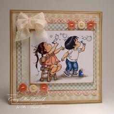 Bubble Girl & Bubble Boy