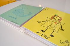 Each guest gets 1-2 pieces of card stock with a letter.  They draw a picture beginning with that letter and together it makes your baby's first ABC book!  So personal!