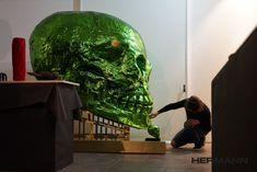 Skull by HERMANN.  #HermannArtWork #Skull #Austria Skull, Photo And Video, Videos, Austria, Artwork, Instagram, Kunst, Work Of Art, Auguste Rodin Artwork