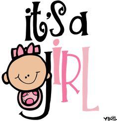 Melonheadz Illustrating It's a girl!