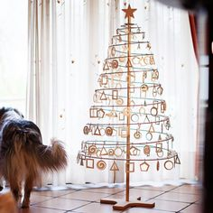 This piece is our customer'sfavorite. Timeless and simple, yet sophisticated design, with plenty of space underneath for the presents. Natural feel and smell of wood, together with endless possibilities of decoration, create festive holiday sensation in your home. Spira is fast setting and requires no tools, just assemble the stand, take the spiral with supporting board and put it over the pole. Handle with care, you can pass it on to your grandchildren.The Spira Christmas treeis made o...
