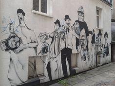 street art by lahim, Gorzów Wlkp., Poland, ul. gen. W. Sikorskiego 50