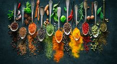 5 Herbs and Spices that Reduce Chronic Inflammation Asian Seasoning, How To Cook Lamb, Kitchen Wall Clocks, Cheese Tasting, Spices And Herbs, Fresh Herbs, 5d Diamond Painting, Royalty Free Images, Food Art