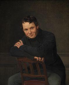 Wilhelm Marstrand (1810-1873): Arkitekten Gottlieb Bindesbøll. 1834