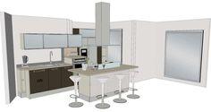 1000 images about cuisine on pinterest cuisine plan de - Plan de cuisine gratuit ...