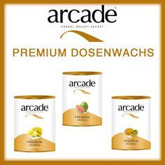 Arcade Premium Dosenwachs Haarentfernung Heißwachs Agda Dose 800g