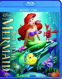 Little Mermaid: Diamond Edition (1989) ($24.12) http://www.amazon.com/exec/obidos/ASIN/B00C7607FS/hpb2-20/ASIN/B00C7607FS This was my favorite movie as a child and for the first time I watched it with my daughter and she loved it also. - Of all the Disney movies this is my #1, it has it all and I've owned it on VHS, Laser Disc( which looked better than the DVD copy) and now on Blu-Ray. - Great music, great story, humor, this movie has it all.