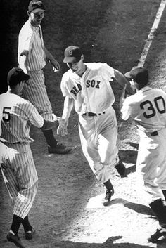 Another great moment in sports history: Ted Williams called his 2 out, 3 run homer to win the 1941 All-Star game.