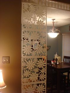Hanging Wall Divider 4 Panels For 9 99 At The Container Store Using This Idea For The