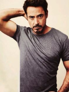 Robert Downey Jr. ~ plays Iron Man on the Iron Man Series and The Avengers. Also well known for Sherlock Holmes.
