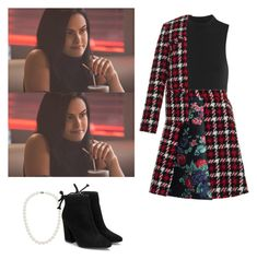 Veronica Lodge - Riverdale by shadyannon on Polyvore featuring polyvore fashion style MSGM Protagonist Blue Nile clothing