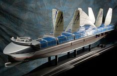 Future Transportation - NYK shows the future of shipping in the fuel-cell powered Eco Ship 2030 Future Transportation, Merchant Navy, Renewable Sources Of Energy, Concept Ships, Green Technology, Futuristic Cars, Super Yachts, Boat Design, Boats