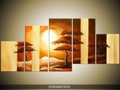 cuadros moderno tripticos polipticos florales abstractos Mural Painting, Painting On Wood, Wood Wall Art, Canvas Wall Art, Layer Paint, Kiln Formed Glass, African Art, Cool Art, Street Art