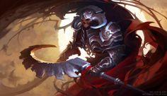 Fantasy illustrations for CCG on Behance