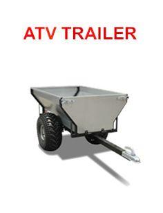 Atv Dump Trailer, Trailer Axles, Atv Trailers, Passengers Trailer, Welding Trailer, Galvanized Sheet, Wheelbarrow, Offroad, Camping