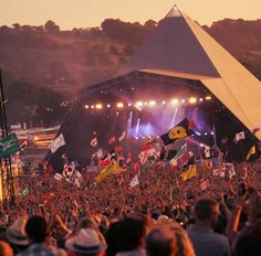 I went to Glastonbury Festival a few years ago and had the best time. If you love live #music and great #food, I'd definitely recommend it!