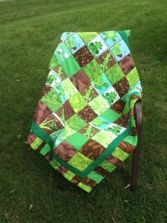 The Lilly Pad by emeraldfirequilts on Etsy, $80.00