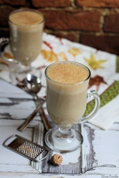 Hot Pumpkin Nog Recipe from @MomFoodie