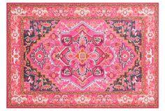 Pheobe Rug, Violet/Pink