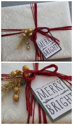 Gift Wrapping Ideas // Linen, Lace, & Love
