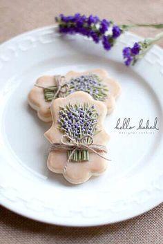 * Lavender bisquits