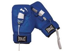 Wii Everlast Boxing Gloves (Blue) by COMPANY X ACCESSORIES LLC. $12.99. Get the real gym workout with the geniune everlast boxing    gloves. Securely put your controller into the loops on the ba ck  of the gloves and your ready to play. Compatible with games like wii sports boxing, cardio boxing, face breaker K.O. Party,       showtime championship boxing and don king boxing.
