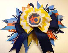 OKC Thunder Bow by HappyCaps2014 on Etsy, $10.50