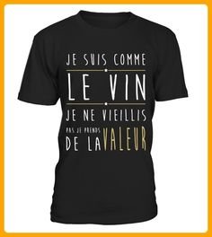 JE SUIS COMME LE VIN - Shirts für onkel (*Partner-Link)